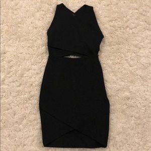 Zara cut-off dress!